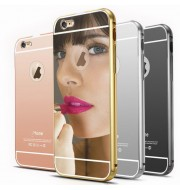 Iphone 6 Metal Bumber Acrylic Mirror Back Cover Case