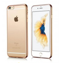 Iphone 6 Plus Silicone Transparent Backcover Case