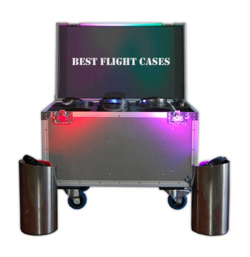 Flight Case for 6 Core Led Lighting | Led Core