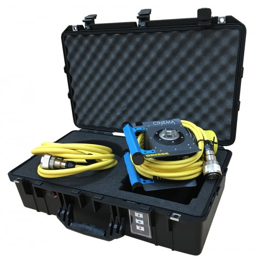 Briese T4 HMI Lamphead and cable space foam insert to fit Peli Air 1555