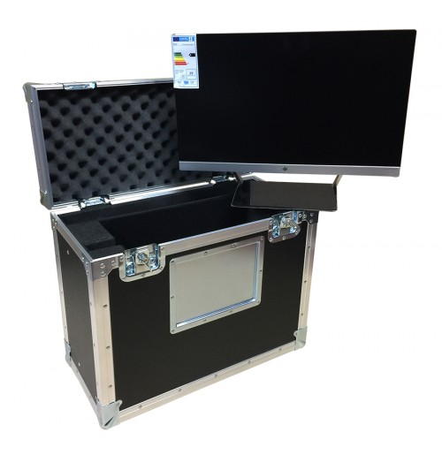 Flight Case for HP 24CW Monitor