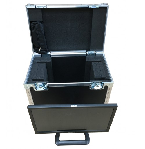 Double Monitor Case for Ikegami ULE-217 21.5-inch Monitors