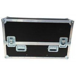 Flight Case for Double Samsung 43 Inch Monitors