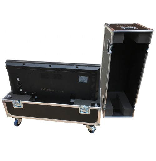 Double Samsung Plasma Monitors DB48E 48 Inch Flight Case