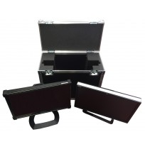 Sony PVM A250 OLED or HPZ24N Monitor with stand Flight Case