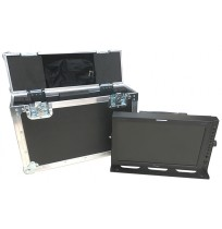 Flight Case for TV Logic LUM-171G UHD/4K LCD Monitor