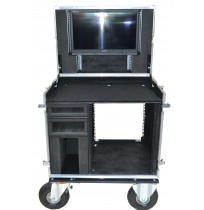 Case for TV Logic Monitor with space for 2 x Black Magic Monitors