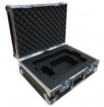 Flight Case for Dell E6540 Laptop with pockets below