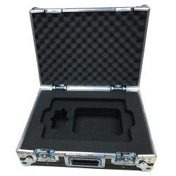 Flight Case for MacBook Pro Laptop with pockets below