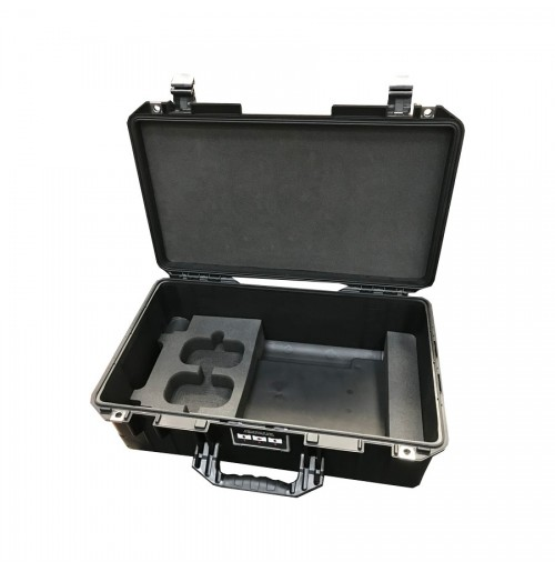 Case And Custom Foam Insert For MCI-7 Laptop With Double Tray