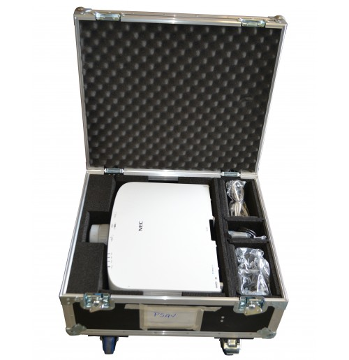Flight Case for NEC PA522U Projector and NP13ZL Lens