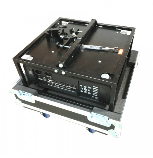 Flight Case for Panasonic PT-DZ870ELK Projector in Frame