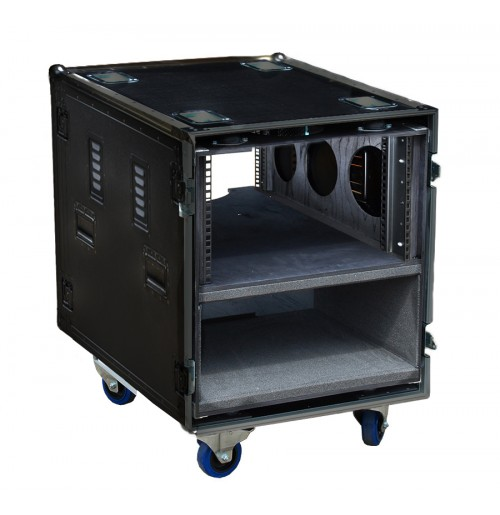 Anti-Vibration Rack System with air vents 12U 570mm deep
