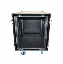 12U Rack Case 750mm deep sleeve