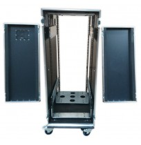 28U Shock Mounted Rack Case 900MM Deep