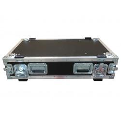 2U Rack Case 800mm deep - 900mm deep including lids