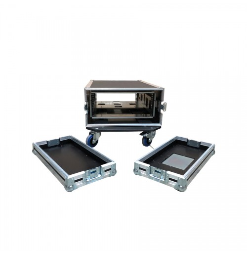 4U Heavy Duty Case For Server With Metal Shock Mounted Sleeve