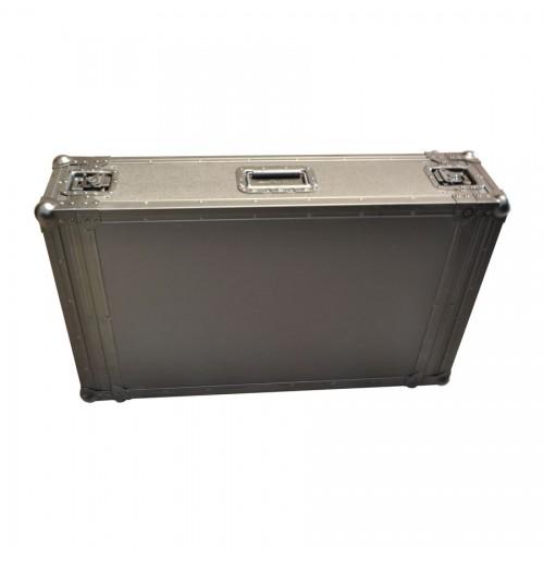 4U Rack Case 700mm deep Behind Racking