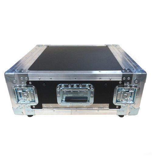 4U Rack Case 450mm deep with quick access Side Flap