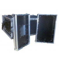 5U Rack Case 800mm deep with metal sleeve