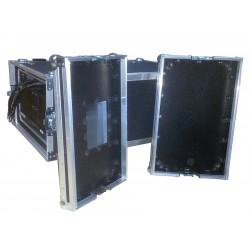 5U Rack Case 800mm deep with metal sleeve