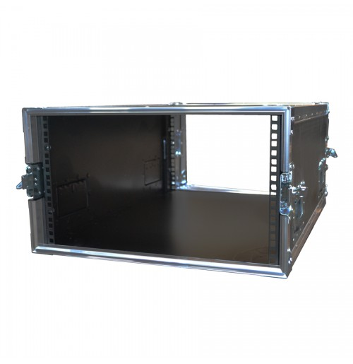6U Rack Case with quick access Side Flap