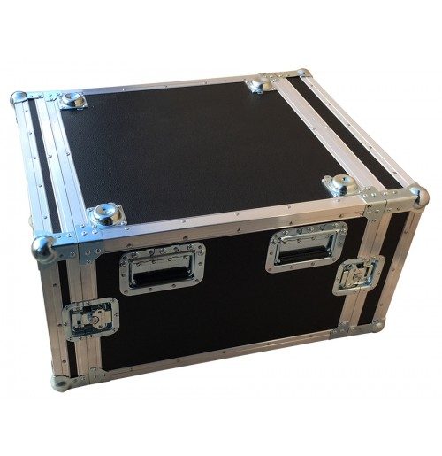 6U Shock Mounted Rack Case 570mm deep