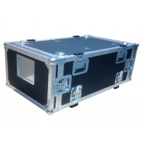 6U Rack Case 800mm deep with metal sleeve