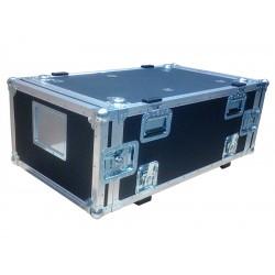 6U Rack Case 800mm deep with metal sleeve