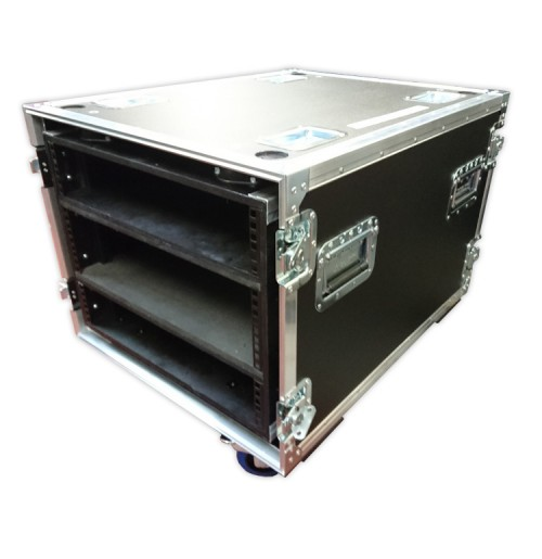 7U Shock Mounted Flight Case