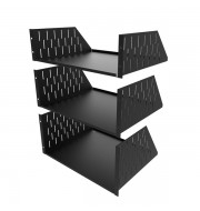 3U-5U Rack Shelves With Side Slots