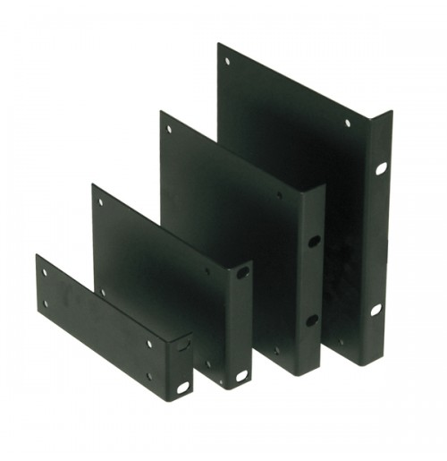 R1206/1U 1U Rack Mounting Brackets - Black