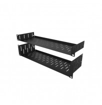 R1297-152/2UK 2U Clamping Rack Shelf
