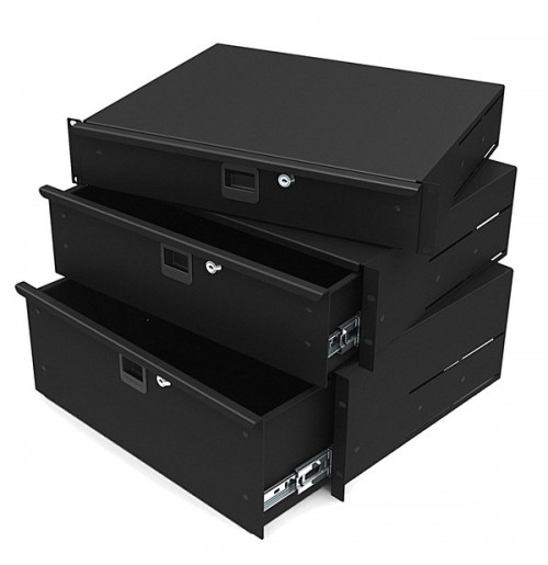 Lightweight Aluminium Rack Drawers