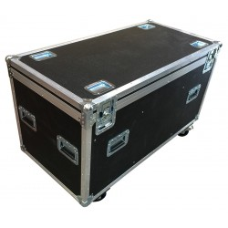 Black Euro 4 foot Road Trunk