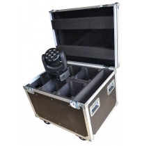 Flightcase for 6x Robe Robin 100led and Accessories