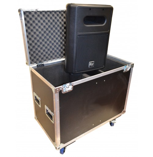 Case for 2x Electro Voice SB122 Subwoofer