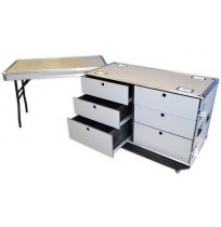 6 Drawer Wheeled Tool Box Flight Case
