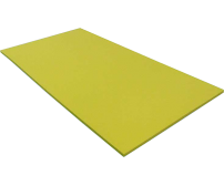 Foam cut to size Split Colours LD45 Black Top / Yellow #940559