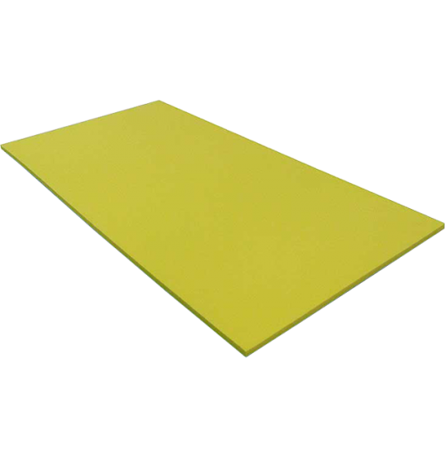 Foam cut to size Split Colours LD45 Black Top / Yellow #260201