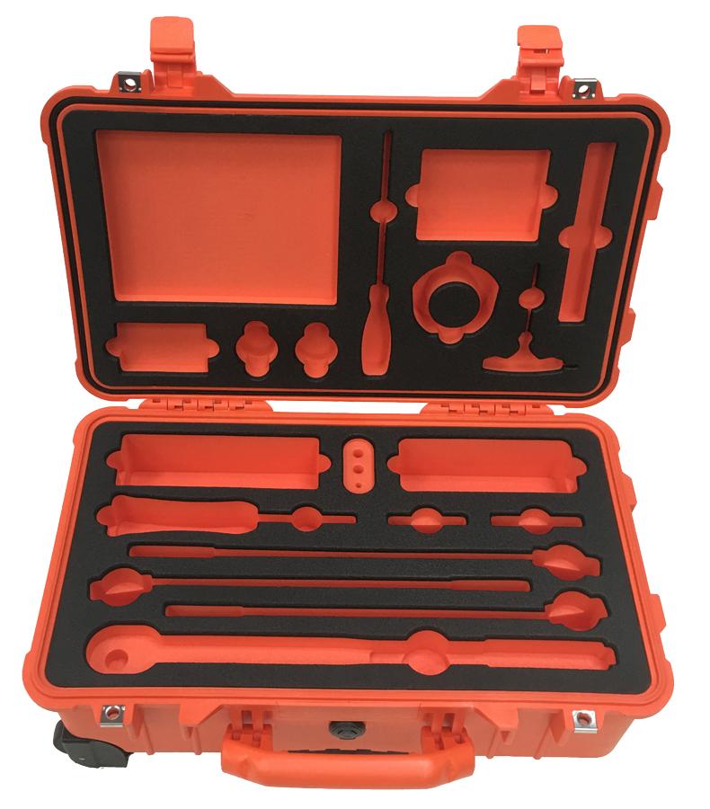 3x50mm Ld45 Black And Orange Foam